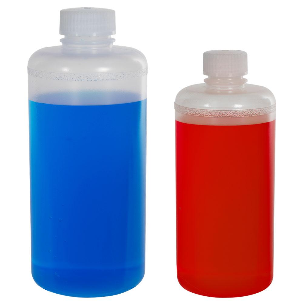 Precisionware™ Polypropylene Narrow Mouth Bottles with Caps