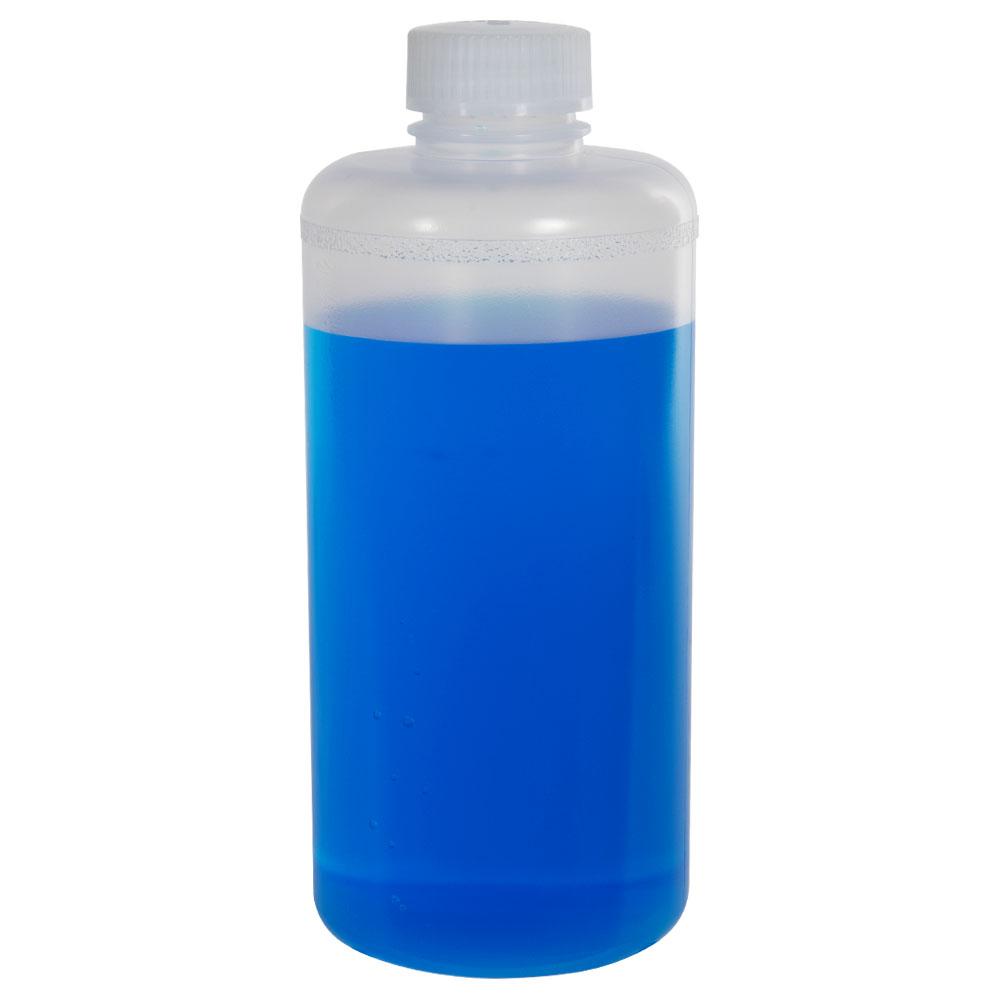 32 oz. Precisionware™ Polypropylene Narrow Mouth Bottle with 38mm Cap