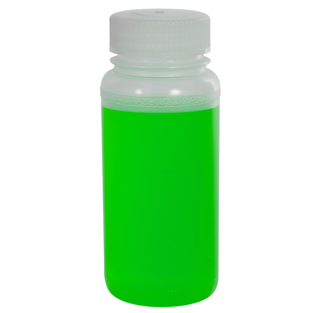8 oz. Precisionware™ Polypropylene Wide Mouth Bottle with 45mm Cap