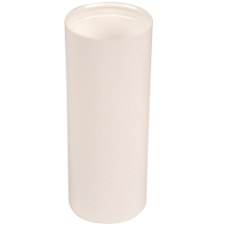 150mL White Polypropylene Pearl Airless Dispenser  (Pump Sold Separately)