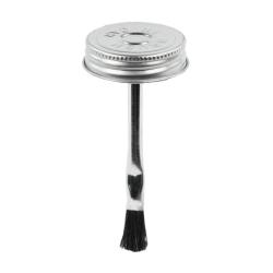 """1-3/4"""" Metal Brush Cap #1 with 4"""" Long Applicator"""