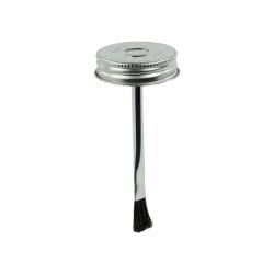 """1-3/4"""" Metal Brush Cap #1 with 4-1/4"""" Long Applicator"""