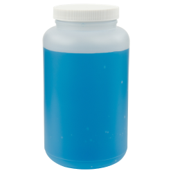 66.6 oz. Wide Mouth Round HDPE Jars with 89/400 Cap