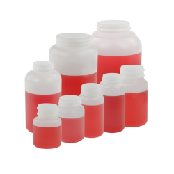 Wide Mouth Round HDPE Jars Only