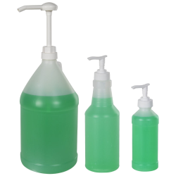 Bottles & Dispensing Pumps