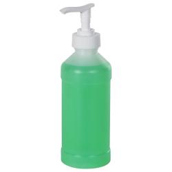 8 oz. Natural Bottle and Pump 28mm Cap