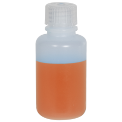 2 oz./60mL Nalgene™ Narrow Mouth Pass-Port IP2 HDPE Shipping Bottle with 20mm