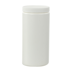 16 oz. White Jar with 70/400 Cap