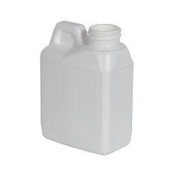 4 oz. White F-Style Jug with 24/400 Neck (Cap Sold Separately)