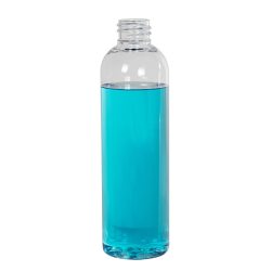4 oz. Cosmo High Clarity PET Round Bottle with 20/410 Neck (Cap Sold Separately)