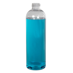 12 oz. Cosmo High Clarity PET Round Bottle with 24/410 Neck (Cap Sold Separately)