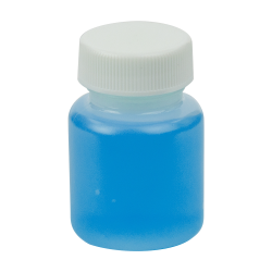 1 oz. Wide Mouth Round HDPE Jars with 28/400 Cap with F217 Liner