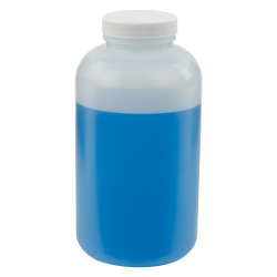 32 oz. Wide Mouth Round HDPE Jars with 53/400 Cap