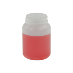 8.3 oz. Wide Mouth Round HDPE Jar 53/400 Neck  (Cap Sold Separately)