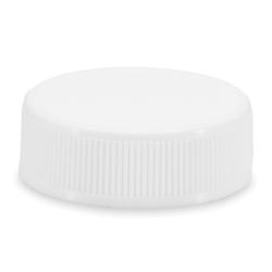 33/400 White Polypropylene Cap with Pressure Sensitive Liner