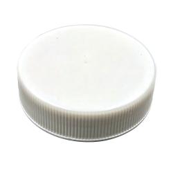 38/400 White Polypropylene Cap with Pressure Sensitive Liner