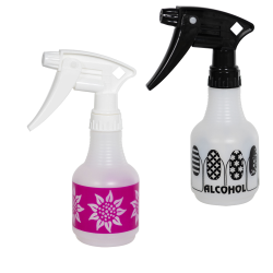 Embossed Design Spray Bottles