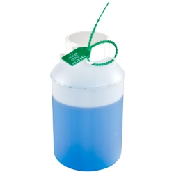 HDPE Lab Bottle with Secure Seal