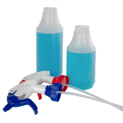 32 oz. Wide Mouth Spray Bottle & 45/400 High Output Sprayers