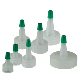 Blind Yorker Spout Caps with Green Tips