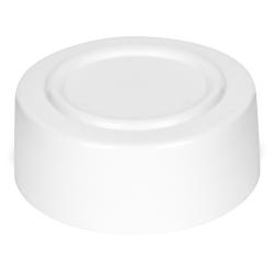 53/485 White Polypropylene Spice Cap