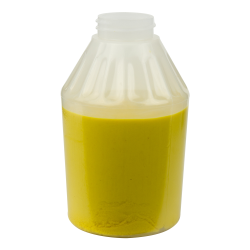 14 oz. Round Flame Treated Mustard Jar with 38/400 Neck (Cap Sold Separately)