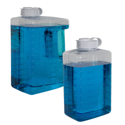 Clear View Refrigerator Bottles
