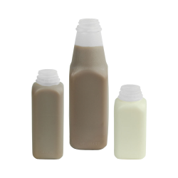 Square Dairy Bottles