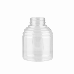 16 oz. (Honey Weight) PET Economy Skep Bottle with 38/400 Neck  (Cap Sold Separately)