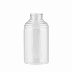 24 oz. (Honey Weight) PET Economy Skep Bottle with 38/400 Neck  (Cap Sold Separately)