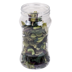 Clear Hourglass Jars