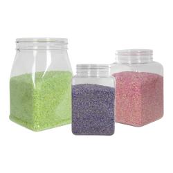 PET Square & Round Jars