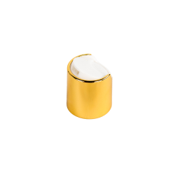 20/410 Gold Disc Dispensing Cap