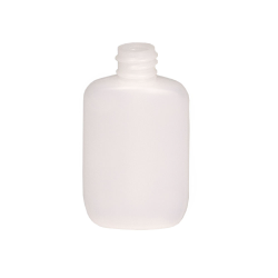 1-1/4 oz. HDPE Natural Oval Bottle with 18/410 Neck  (Cap Sold Separately)