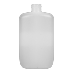 4 oz. HDPE Natural Oval Bottle with 20/410 Neck  (Cap Sold Separately)
