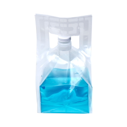 1 Gallon Collapsible Bottle with 38/400 Cap