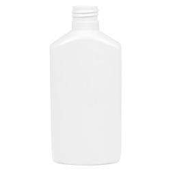 6 oz. White PET Drug Oblong Bottle with 24/410 Neck  (Cap Sold Separately)