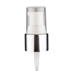 "20/410 Silver/White Smooth Treatment Pump - 4"" Dip Tube"