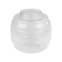249 oz. PVC Barrel Jar with 120mm Neck (Cap Sold Separately)