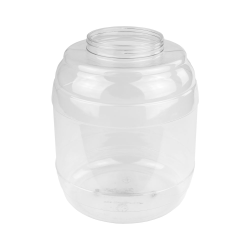 343 oz. PVC Barrel Jar with 120mm Neck (Cap Sold Separately)