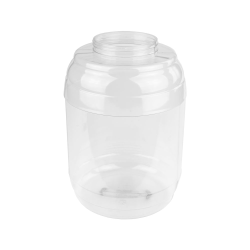 420 oz. PVC Barrel Jar with 120mm Neck (Cap Sold Separately)
