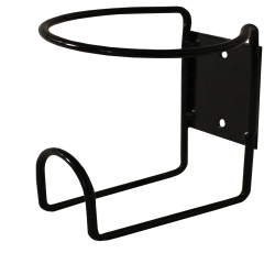 Black Wall Mount Rack for 32 oz. Bottles