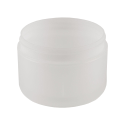 8 oz. Dome Double Wall Natural Jar with 89mm Neck (Cap Sold Separately)