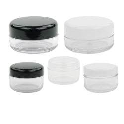 Sample PET Jars with Lids
