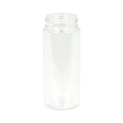 50mL Clear PET Foamer Style Cylinder Bottle with 30/400 Neck (Pump Sold Separately)