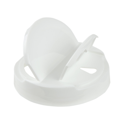 89/400 White Tear Drop Heat Seal Cap