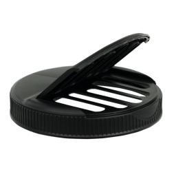 110/400 Black Shaker Cap