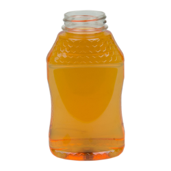 12 oz. PET Hourglass Grip Bottle with 38/400 Neck (Caps sold separately)