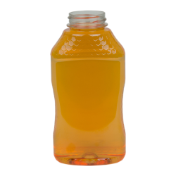 24 oz. PET Hourglass Grip Bottle with 38/400 Neck (Caps sold separately)