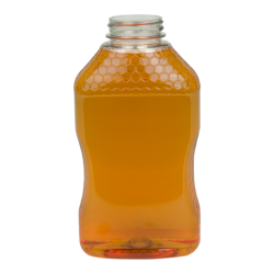 32 oz. PET Hourglass Grip Bottle with 38/400 Neck (Caps sold separately)